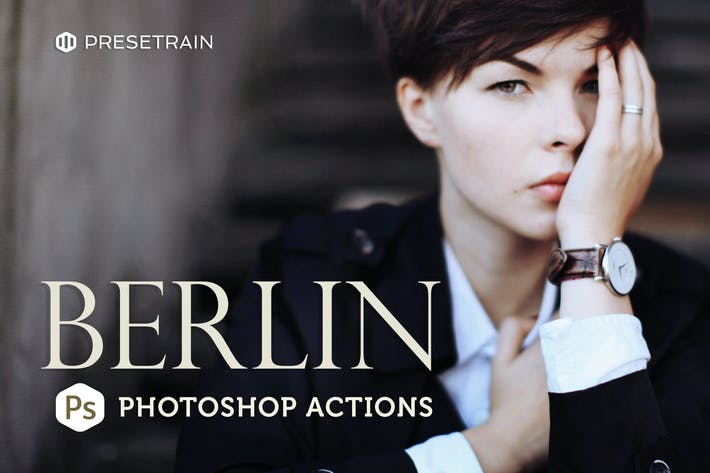 Cover Image For Berlin Photoshop Actions