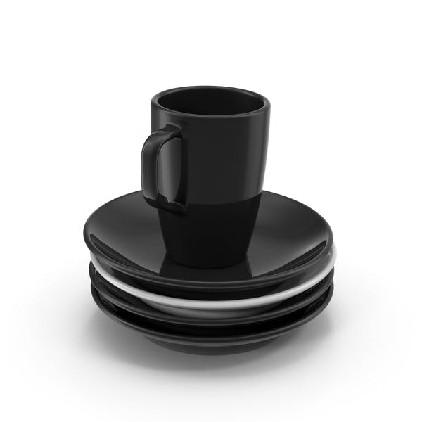 Cover Image for Coffee Cup and Saucers