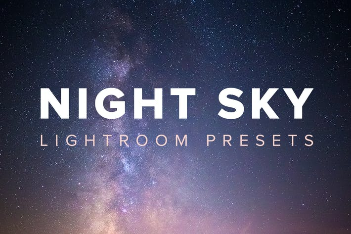 Thumbnail for Night Sky Lightroom Presets