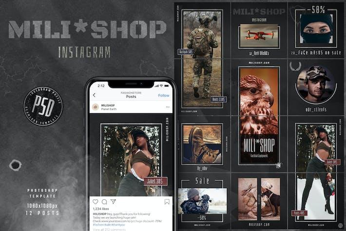 Military Shop Instagram Puzzle