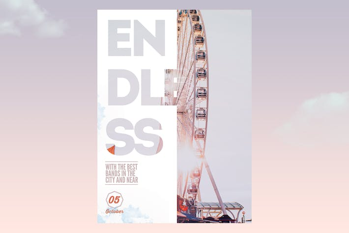 Thumbnail for Poster Endless Event Flyer