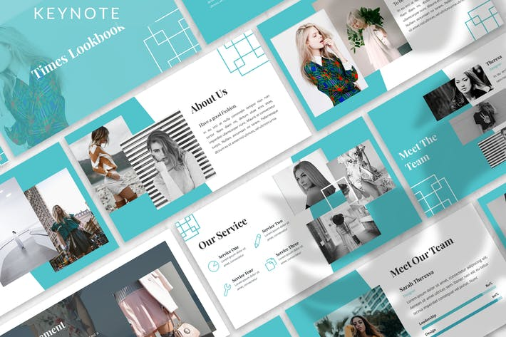 Thumbnail for Times - Business Keynote Template