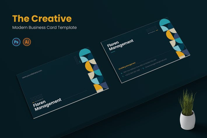 Thumbnail for Creative Management Business Card