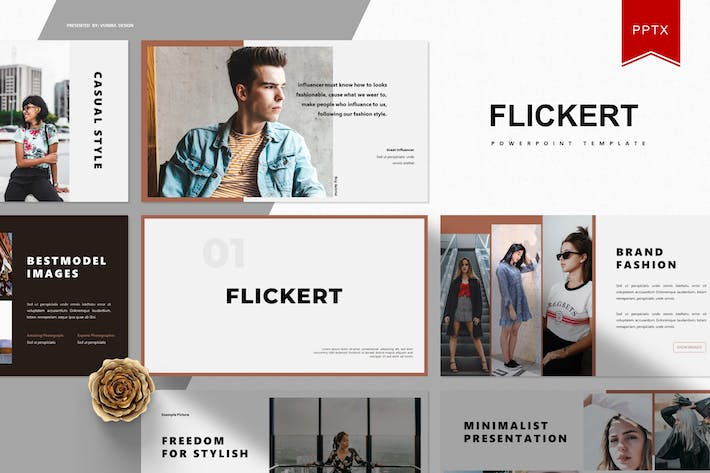 Cover Image For Flickert   Powerpoint Template
