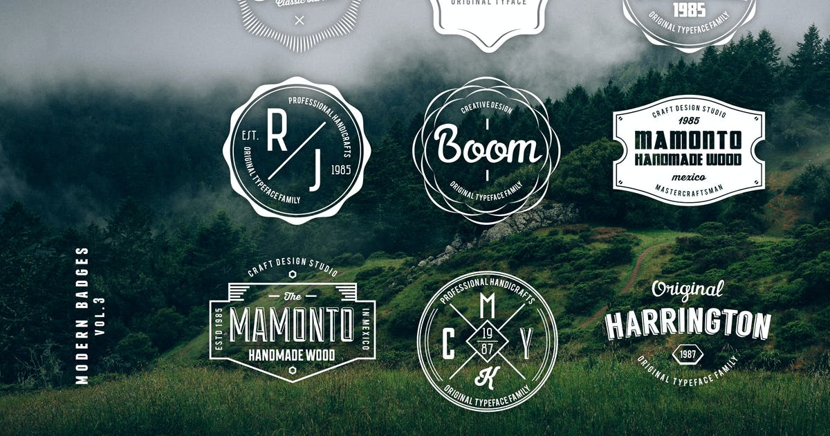 Download Modern Badges Vol.3 by BNIMIT