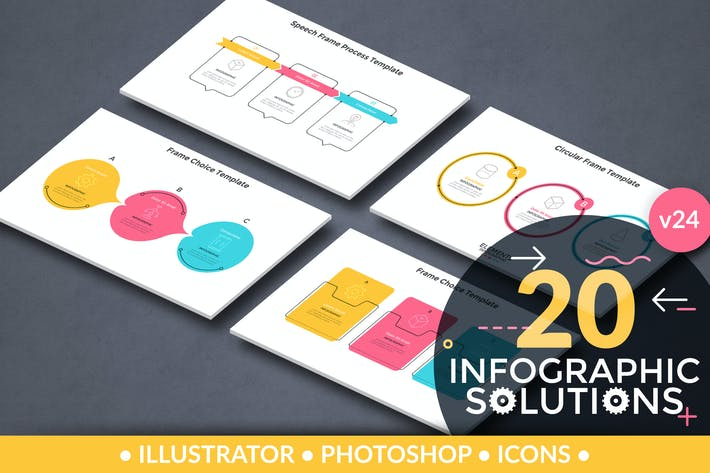 Thumbnail for Infographic Solutions. Part 24