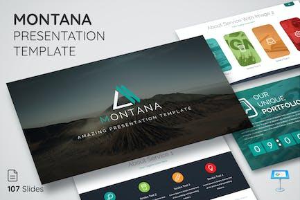Montana - Keynote Presentation Template