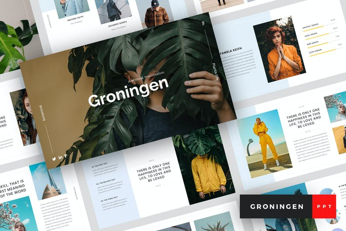 Thumbnail for Groningen - Minimal PowerPoint Template