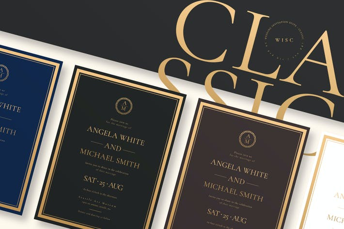 Thumbnail for Classic - Wedding Invitation Suite AE