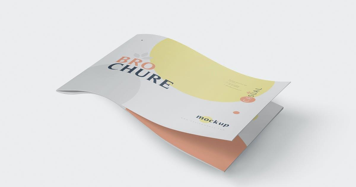 Download US Letter Landscape Brochure - Magazine Mockup set by GfxFoundry