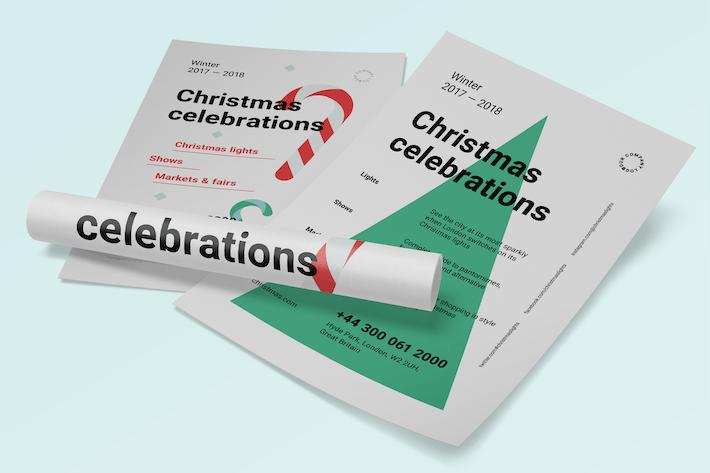 Thumbnail for Christmas Poster Template
