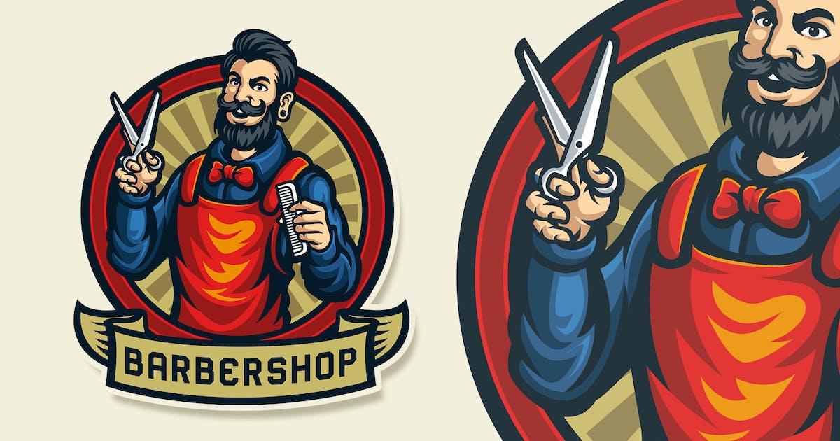 Download Barbershop Vintage Logo Template by Blankids