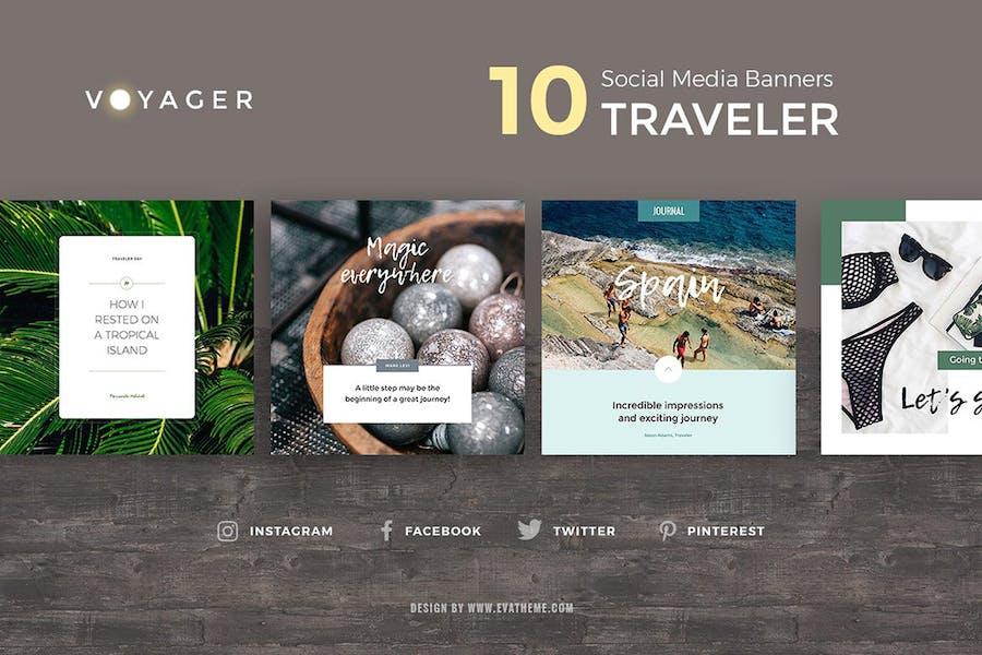 Voyager Social Media Pack