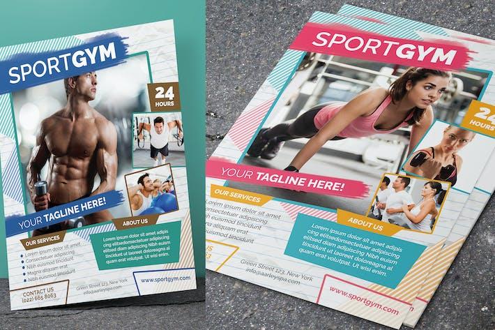 Thumbnail for Fitness & Sport Flyer
