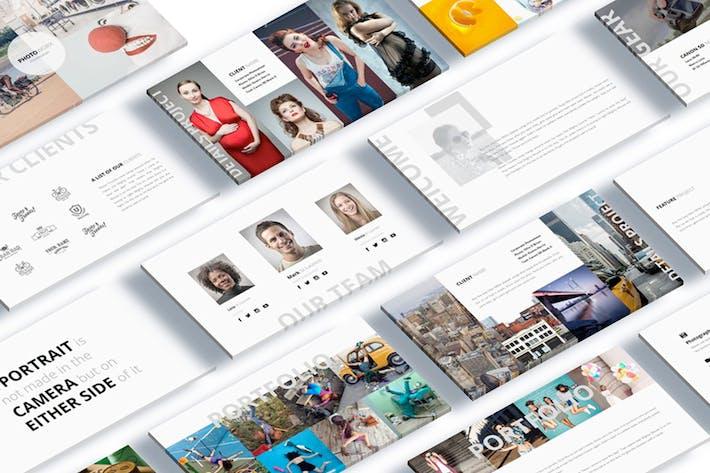 Thumbnail for Pocketgraph Fotografía Presentación de Google Slide
