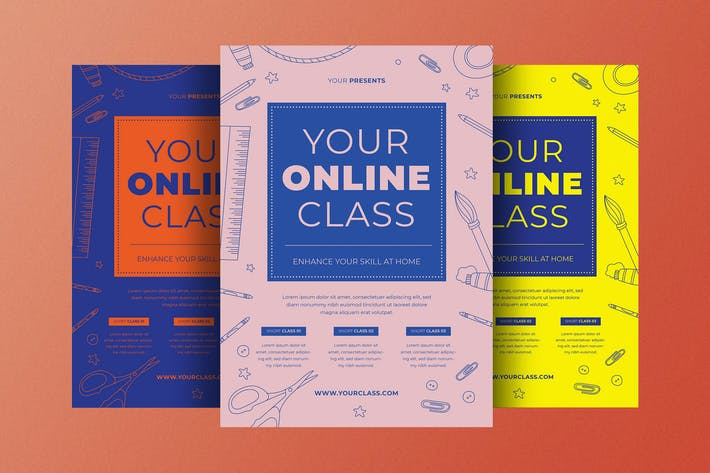 Thumbnail for Online Class Flyer