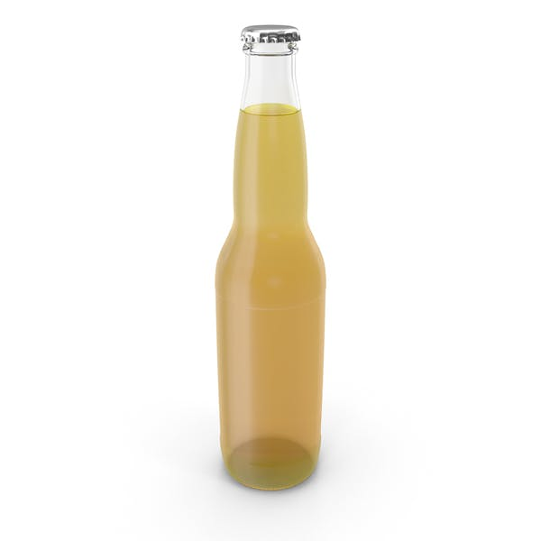 Clear Beer Bottle