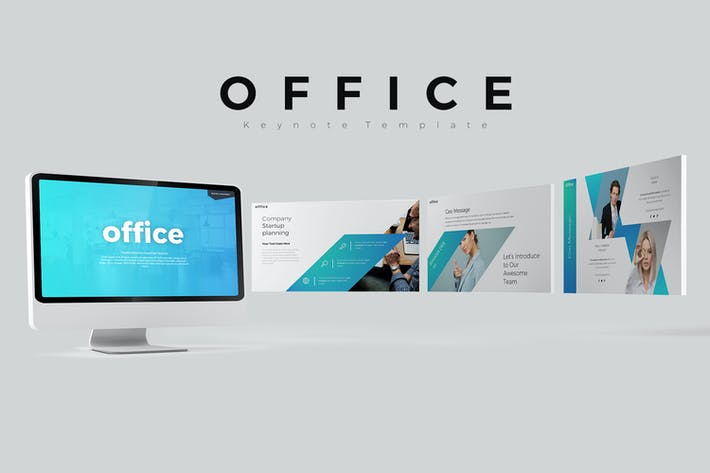 Thumbnail for office Keynote Templates