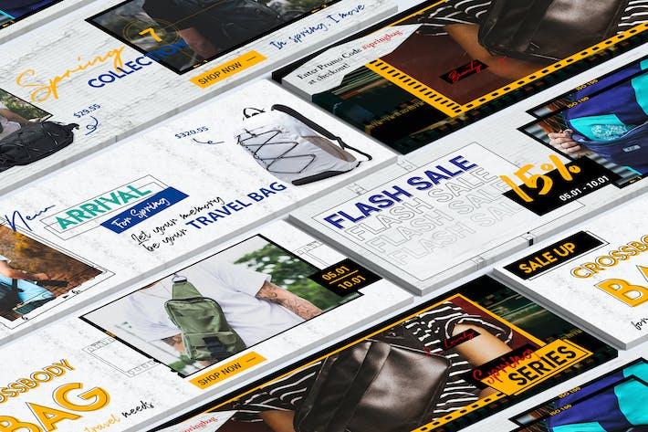Thumbnail for En-tête Twitter Collections printanières