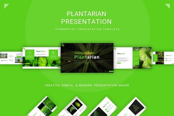 Thumbnail for Plantarian - Шаблон Powerpoint