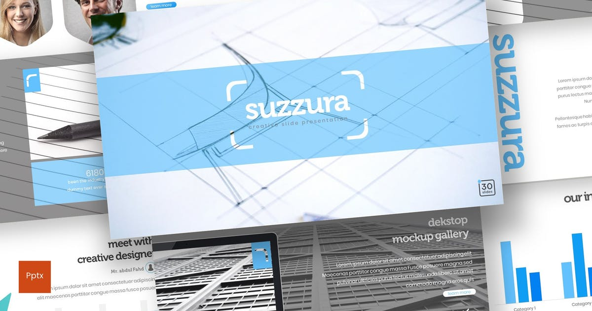 Download Suzzura - Powerpoint Template by inspirasign