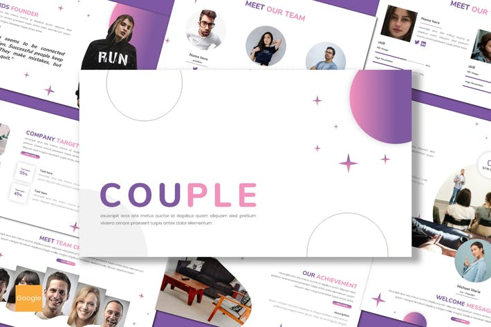 Couple - Business Google Slides Template