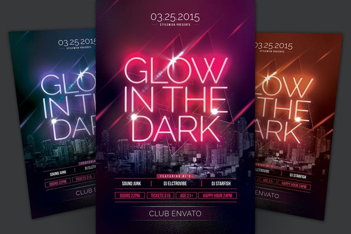 Thumbnail for Glow In The Dark Flyer