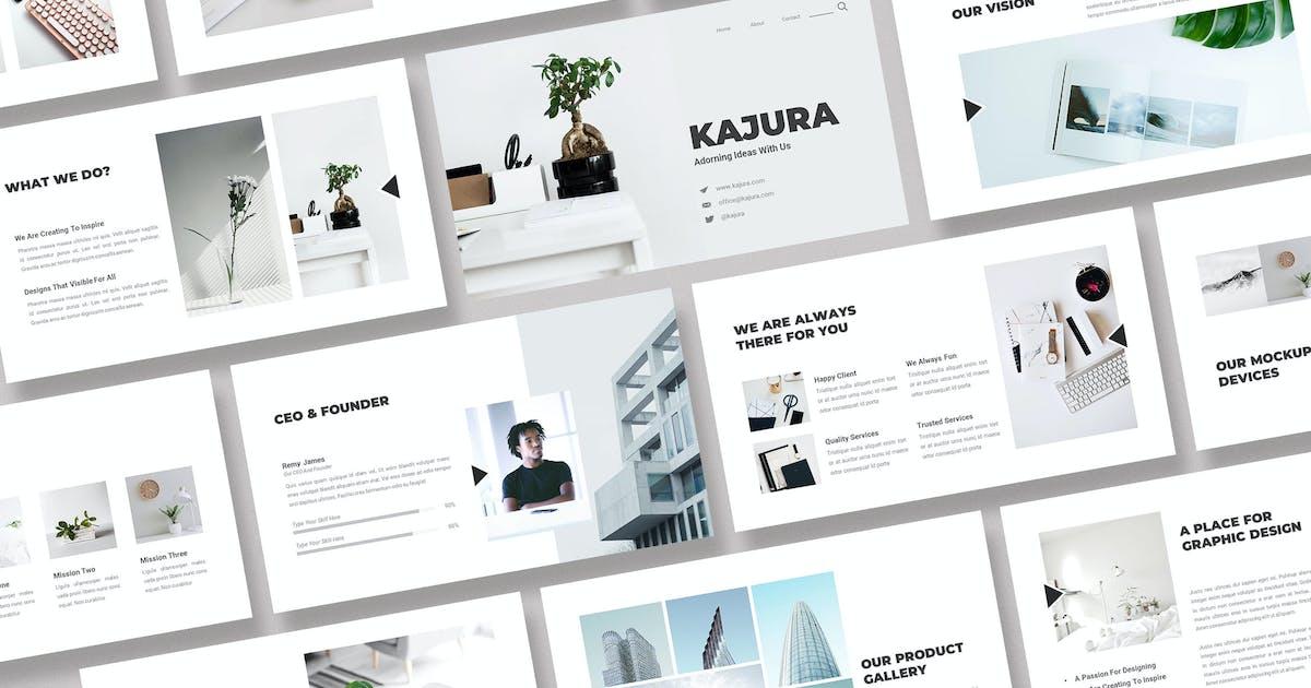 Download Kajura Creative Business KeynoteTemplate by kerismaker