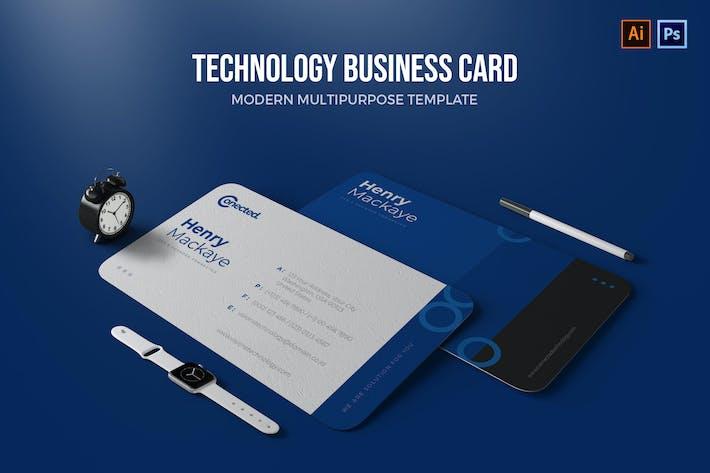 Thumbnail for Technologie - Carte de visite