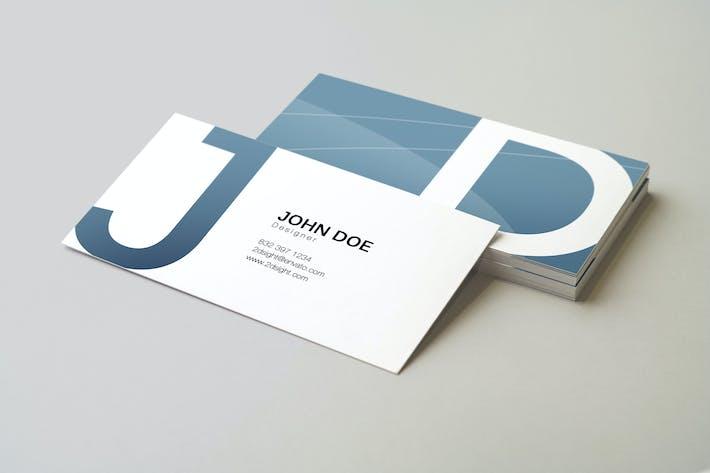 Cover Image For 90x50 Business Card Mockup v2