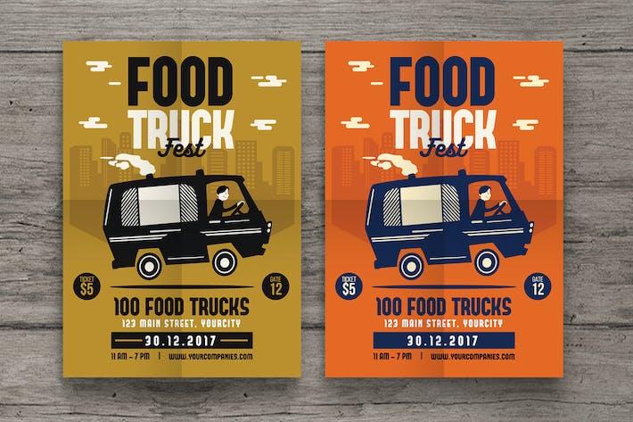 Thumbnail for Food Truck Fest Flyer