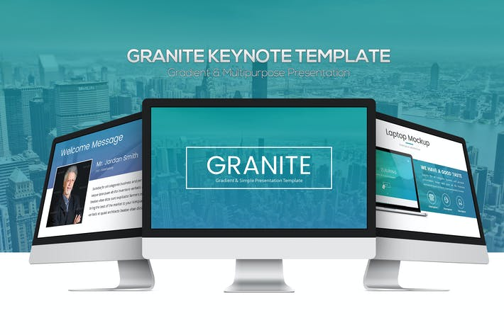 Thumbnail for Granite Keynote Template