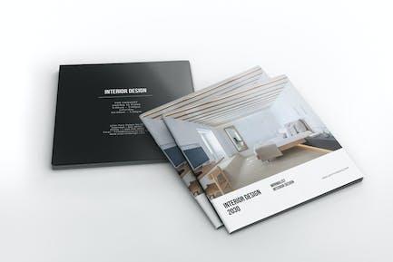 Interior Design - Square Brochure Catalog
