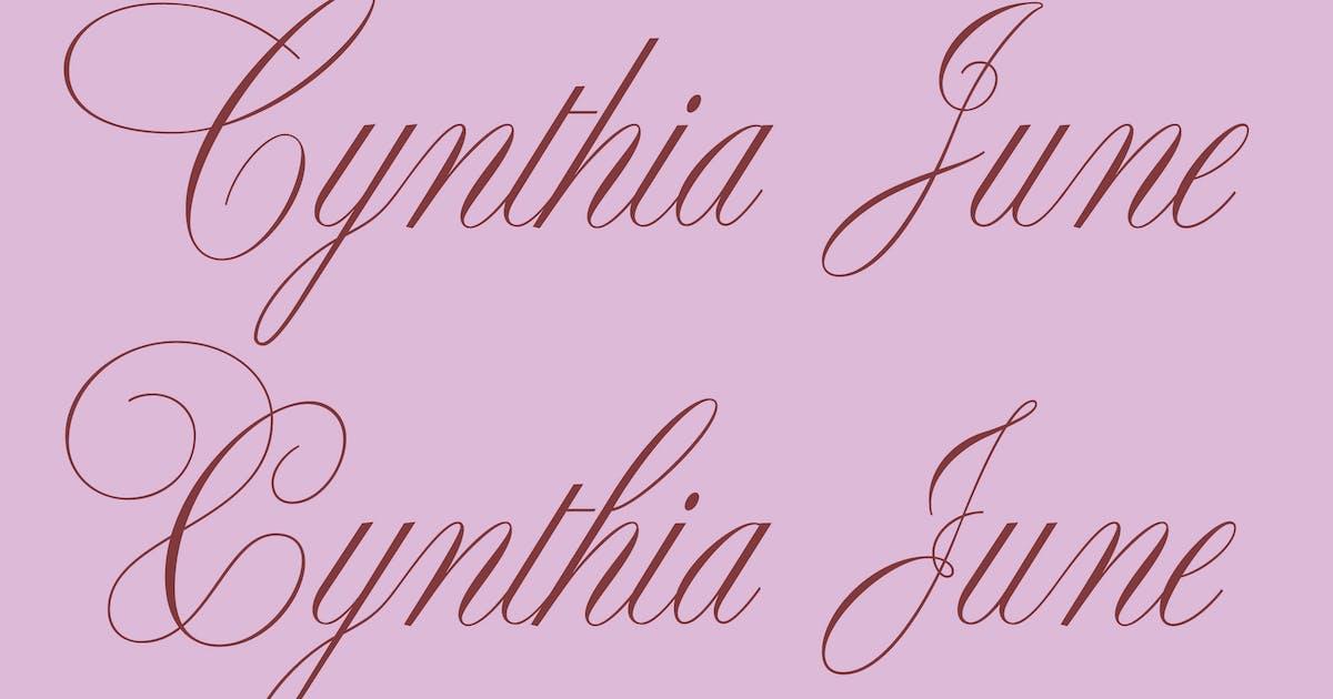 Download Cynthia June by WalcottFonts