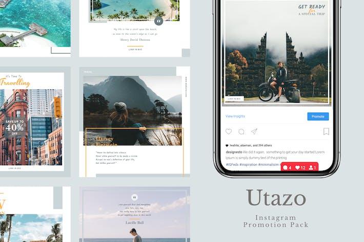 Thumbnail for Utazo - Instagram Feeds Pack