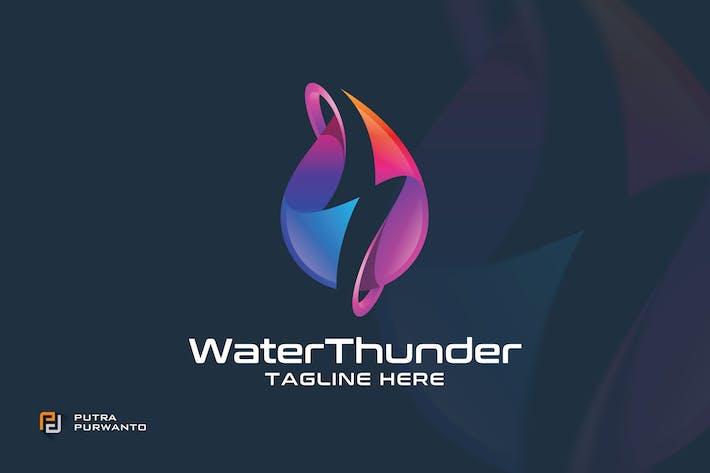Thumbnail for Water Thunder - Logo Template
