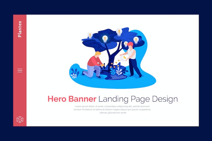 Thumbnail for Plantex - Premium Hero Banner Template