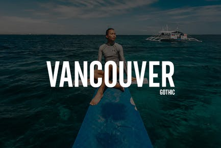 Vancouver - Tipo de letra gótico + WebFonts