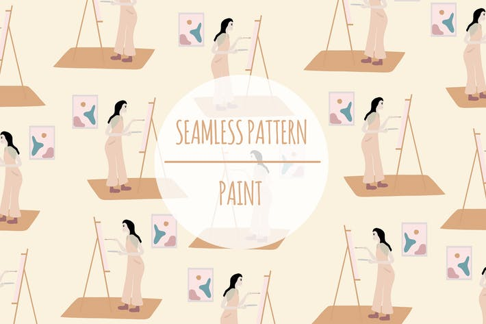 Paint – Seamless Pattern