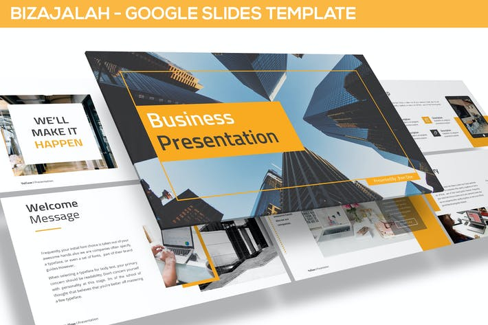 Thumbnail for Bizajalah - Business Google Slides Template