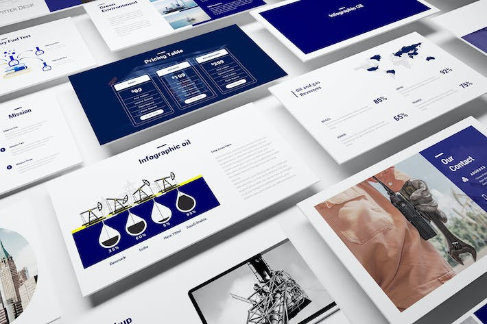 Download 3 fuel presentation templates envato elements thumbnail for oil and gas keynote template toneelgroepblik Image collections