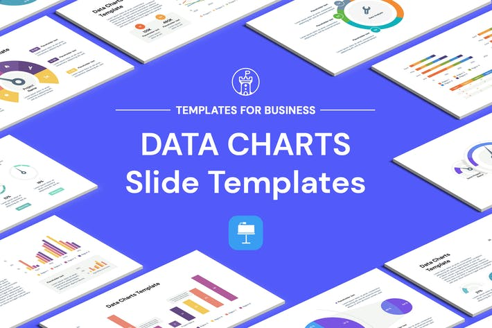Data Chart Keynote Templates