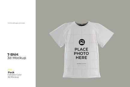 3D T-Shirt Mock Up
