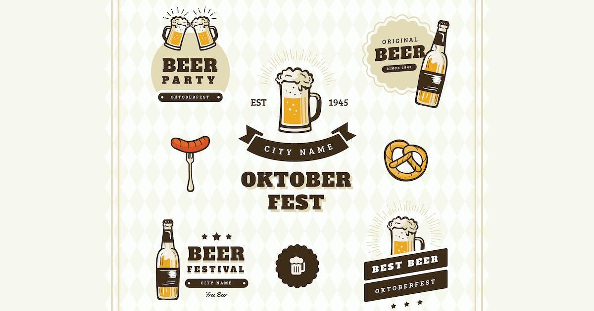 Oktoberfest Badge / Label by vynetta