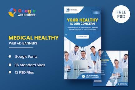 Medical Health Animated Banner GWD
