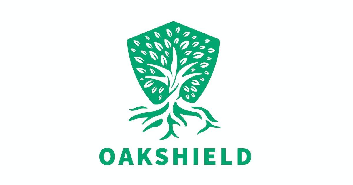 Download Oak Shield Negative Space Logo by Suhandi