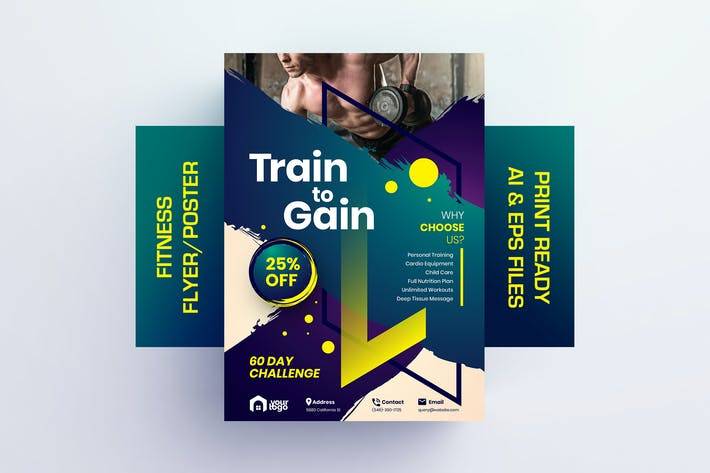 Thumbnail for Train to Gain - Fitness Flyer