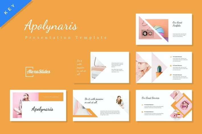 Thumbnail for Apolynaris - Keynote Presentation Template