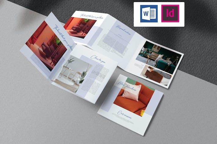 Thumbnail for Square Brochure