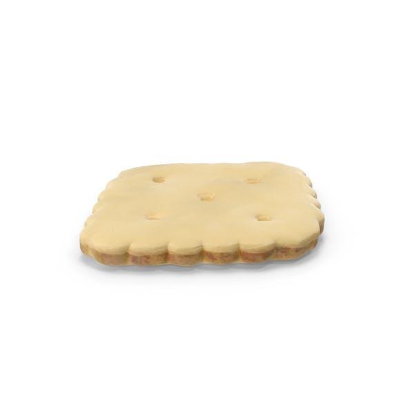 Thumbnail for White Chocolate Covered Mini Rhombus Cracker